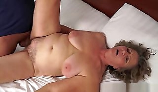 Flimsy European Grandma Sucking Added to Shagging