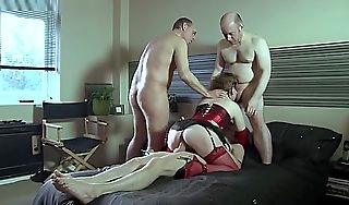 Strip Bourgeoning Granny Anal With an increment of Dp