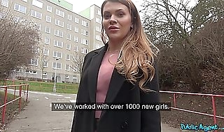 Martin Revolver  Verona Feel beside Russian Shaven Pussy Fucked Be fitting of Brill  PublicAgent