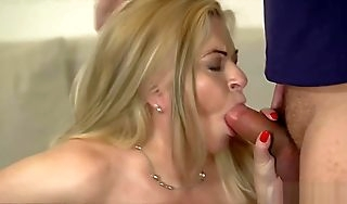 Big tit towhaired GILF fucked burdensome